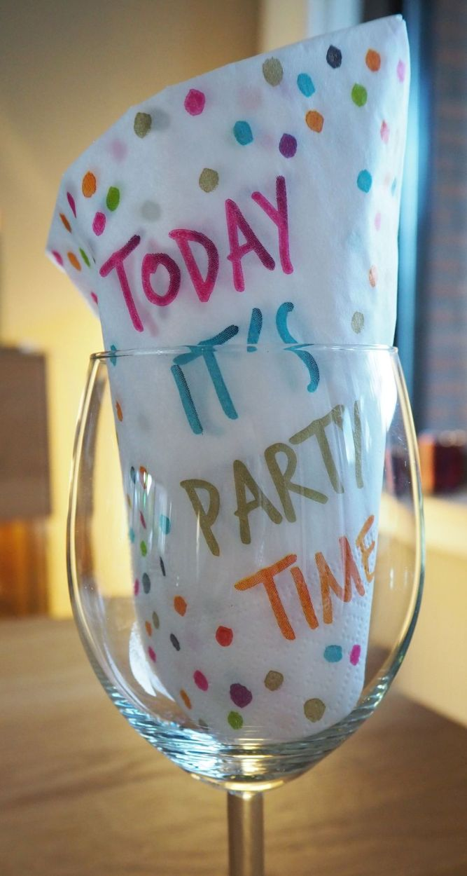 Today it's Party Time