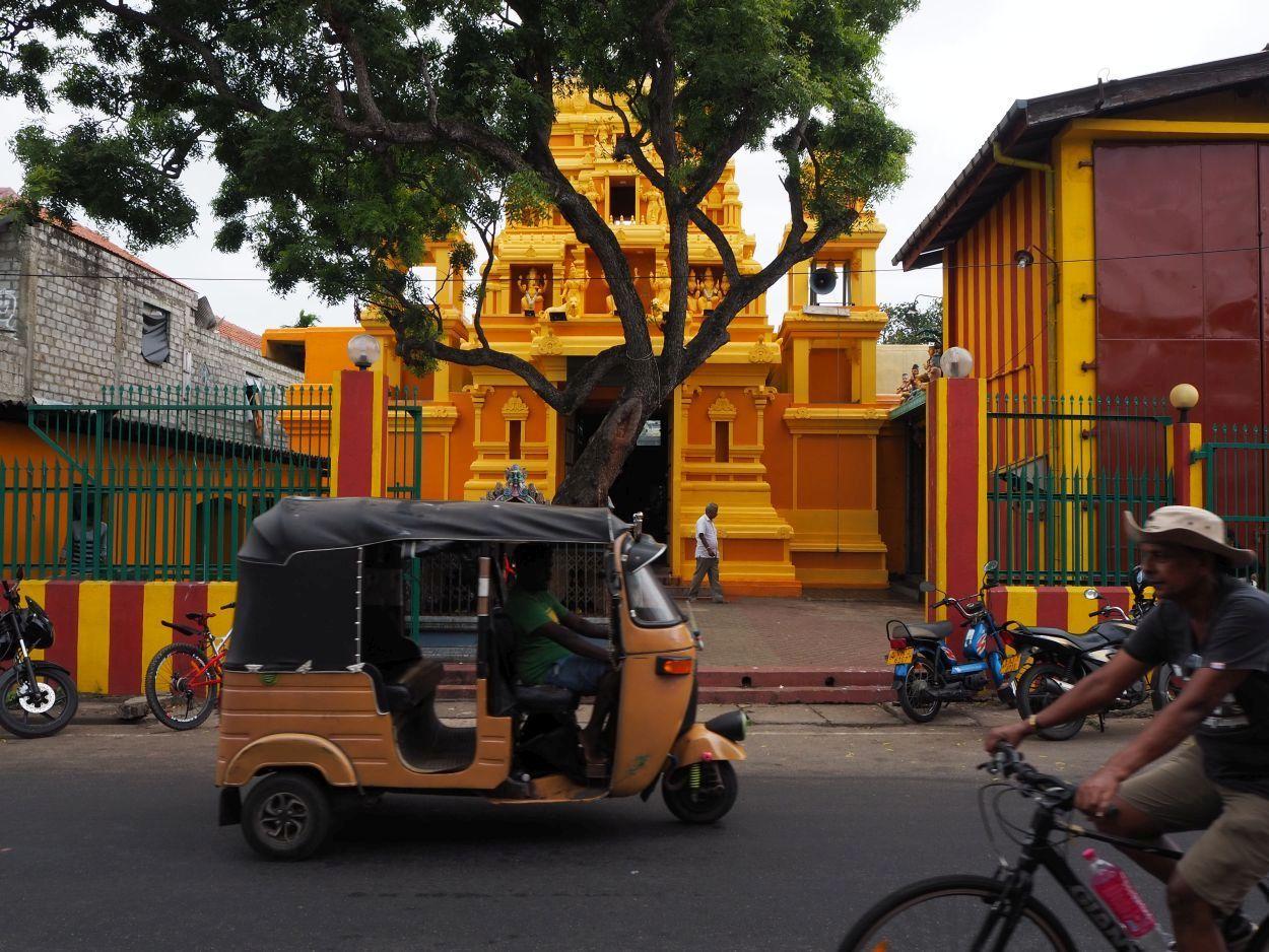 Hindutempel in Negombo / Sri Lanka