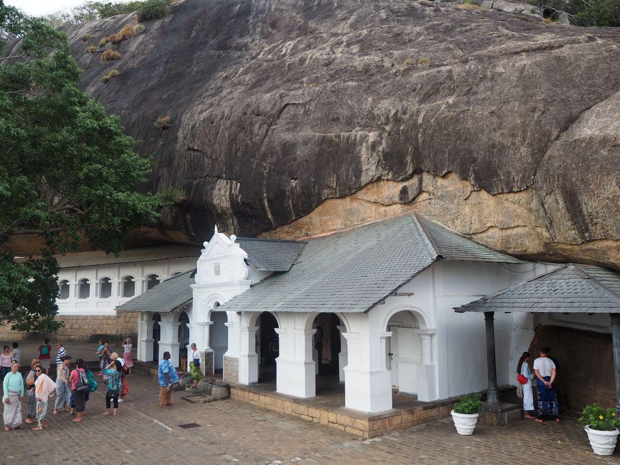 Höhlentempel von Dambulla / Sri Lanka