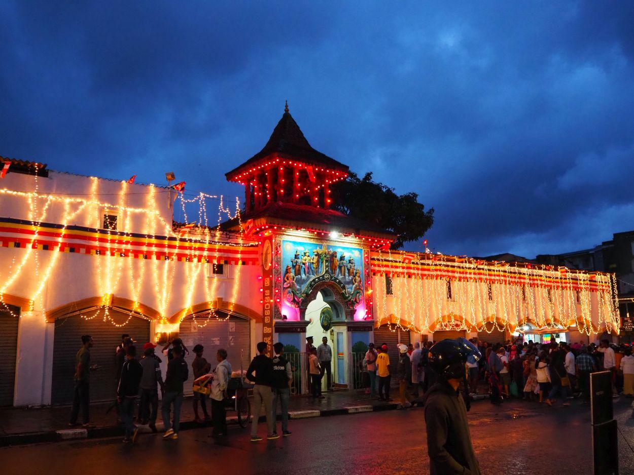 Eröffnung des Esala Perahera Festivals in Sri Lanka