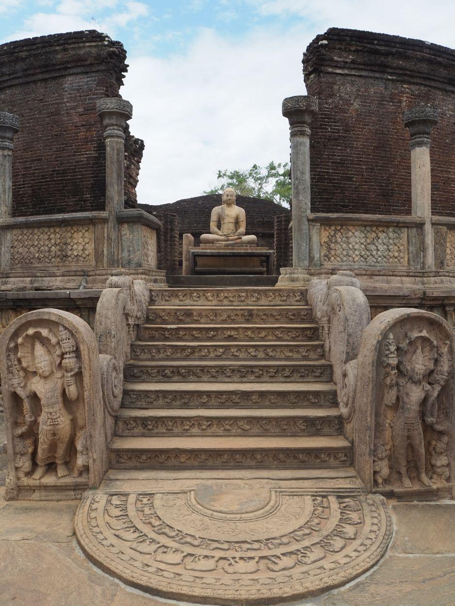Archäologische Ausgrabungsstätte in Polonnaruwa / Sri Lanka 2