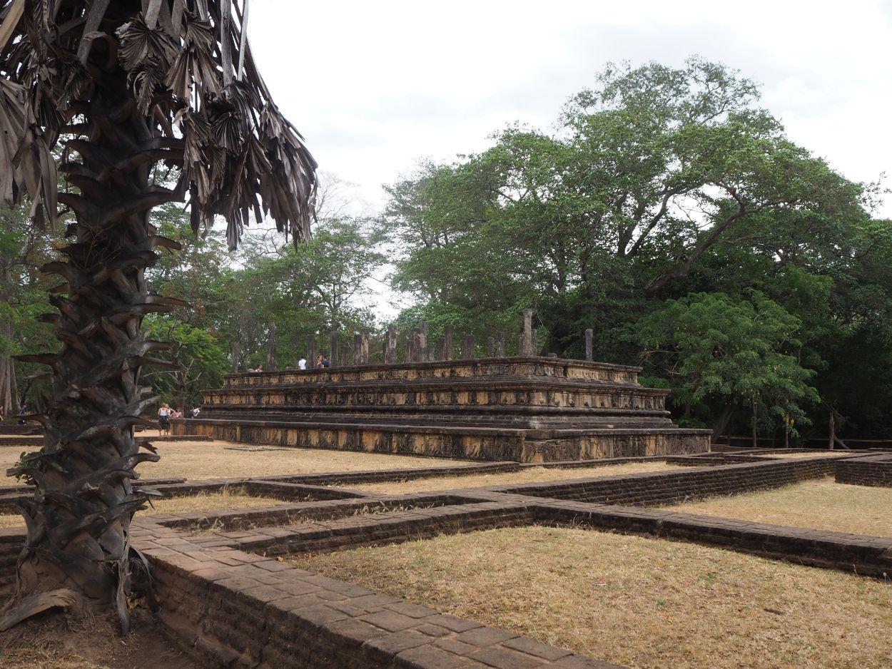 Tempelanlage in Polonnaruwa / Sri Lanka