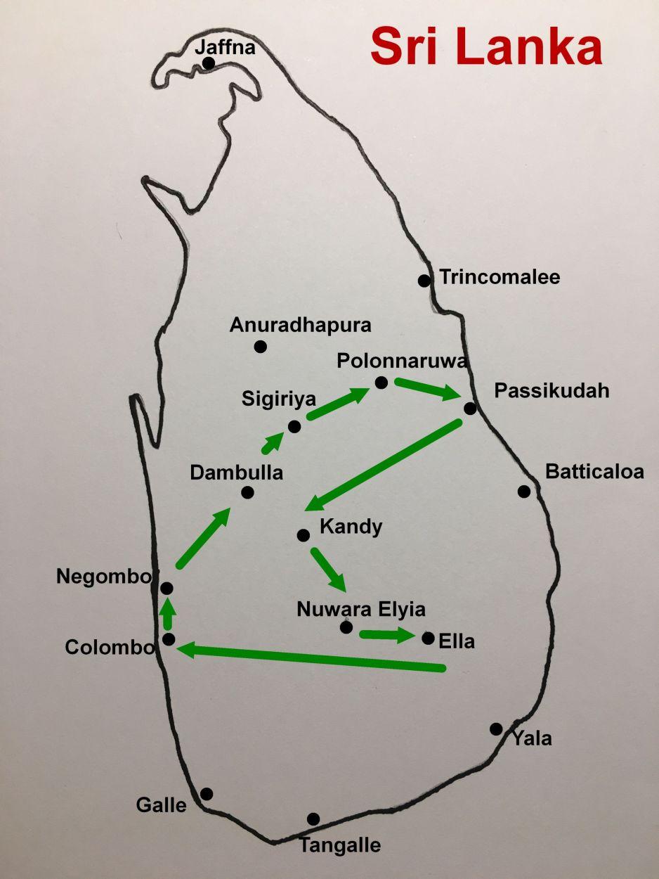 Unsere Rundreise durch Sri Lanka