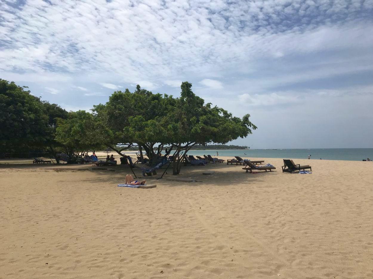 Traumhafter Strand in Passikudah / Sri Lanka