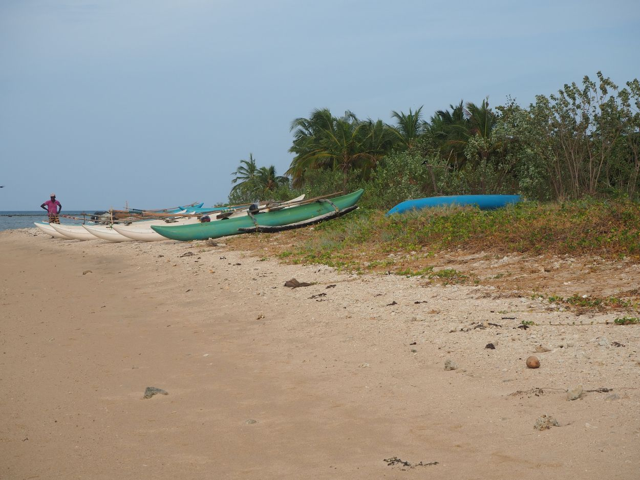 Strandspaziergang in Passikudah