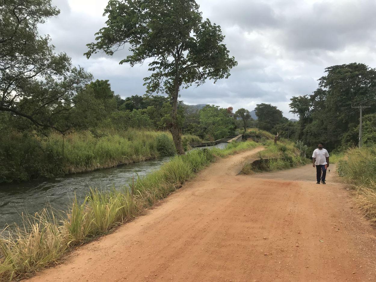 Morgendliche Joggingrunde in Sri Lanka