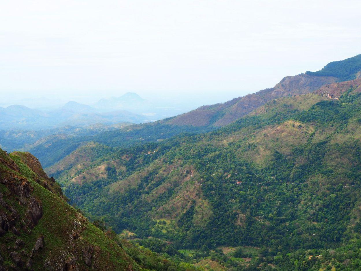 Wundervolle Aussicht vom Little Adam's Peak