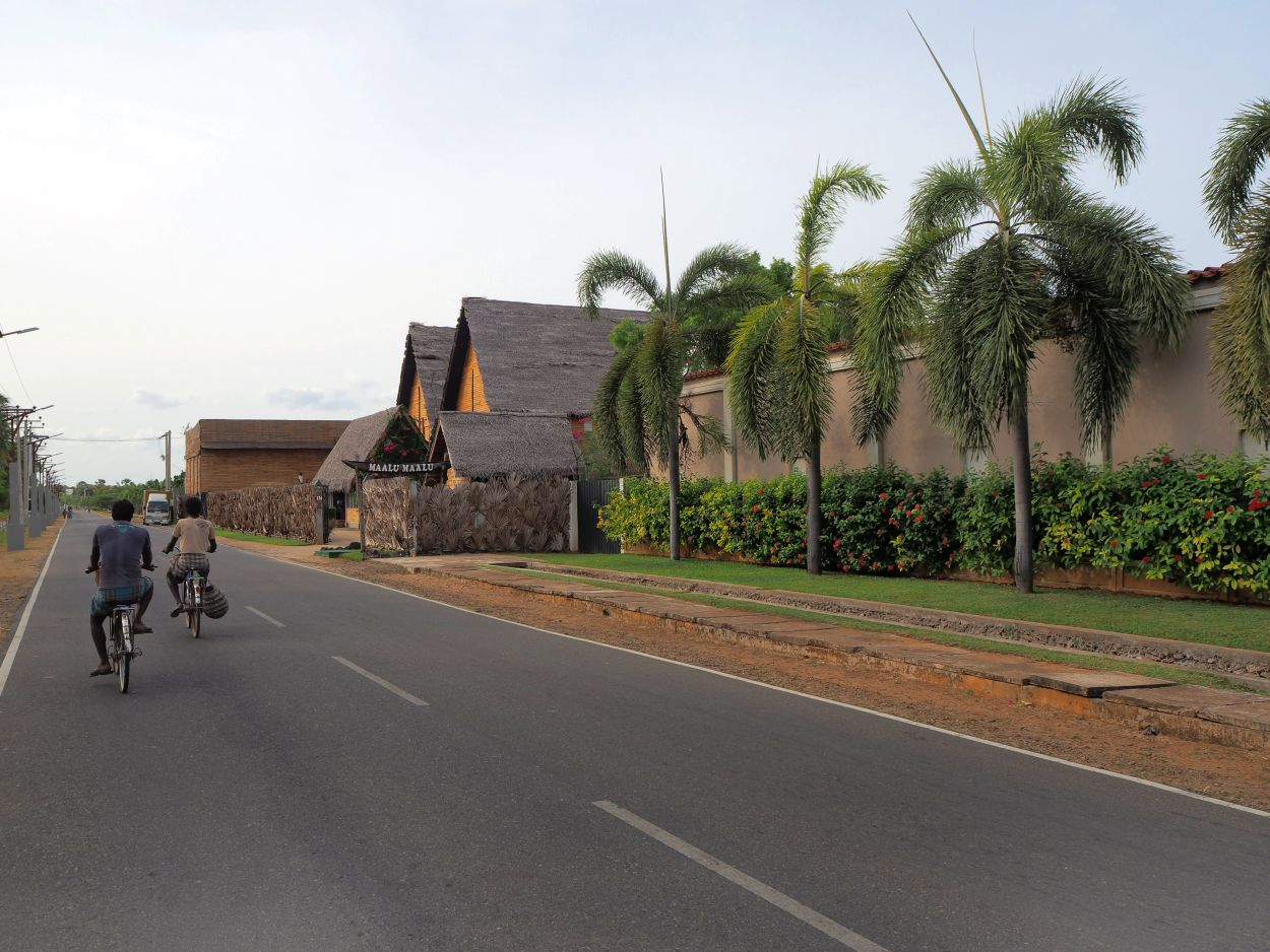 Stets begleitete uns unser Fahrer in Sri Lanka.
