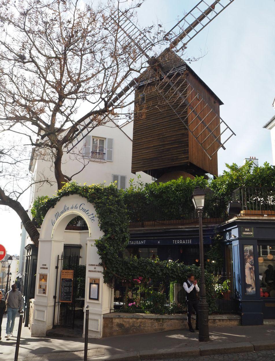 Windmühle in Montmartre