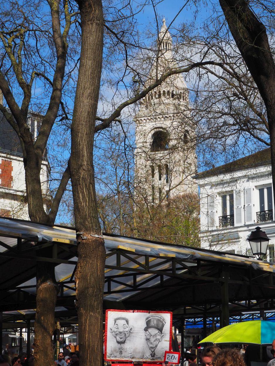 Künstlermarkt auf dem Place du Tertre