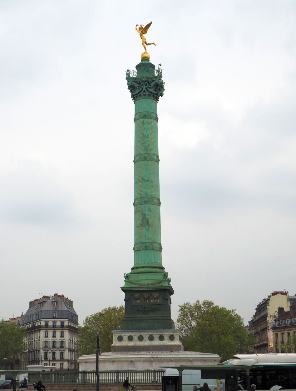 Julisäule auf dem Place de Bastille