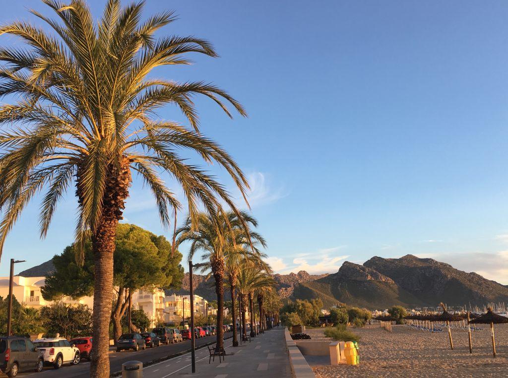 Tagesstart in Port de Pollenca