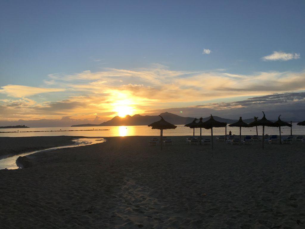 Sonnenaufgang in Port de Pollenca