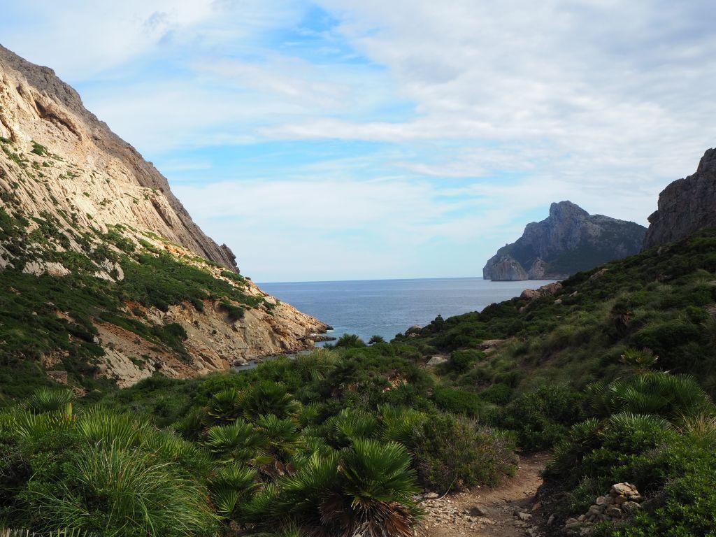 Ausblick auf die Bucht Boquer