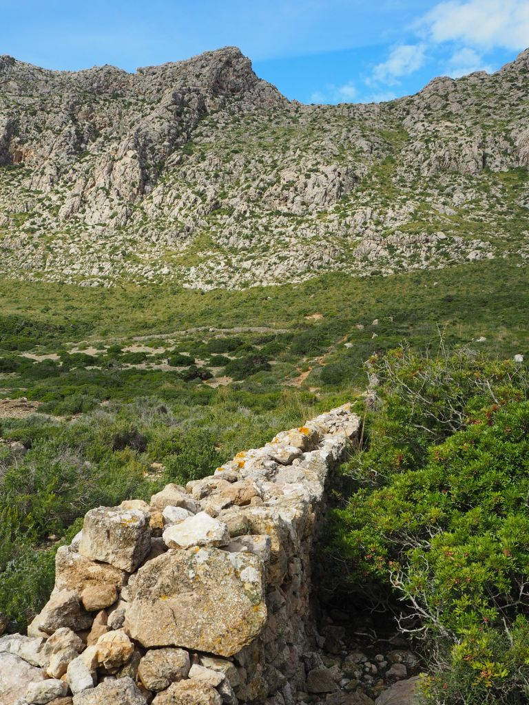 Wanderweg zur Cala Boquer
