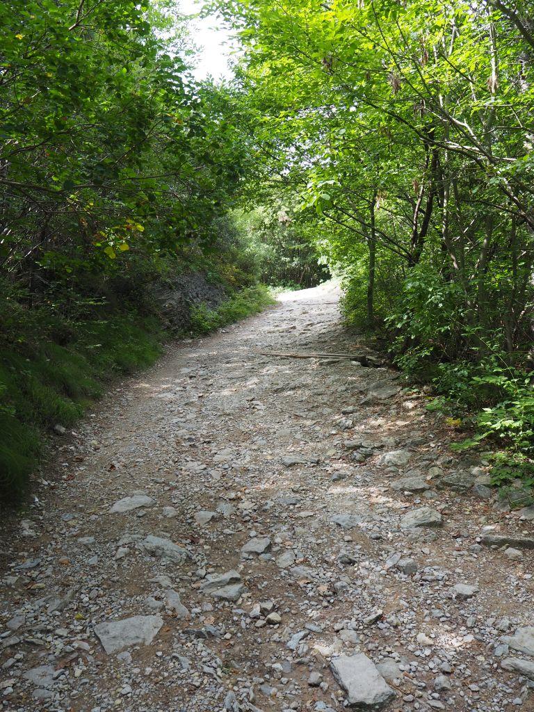 Wanderweg von Busatte nach Tempesta