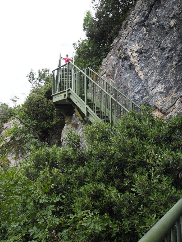 Die Treppen von Busatte Tempesta