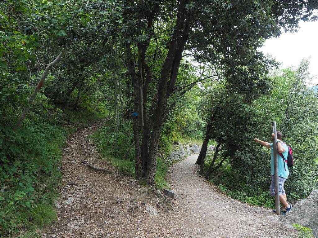 Panoramweg von Busatte nach Tempesta