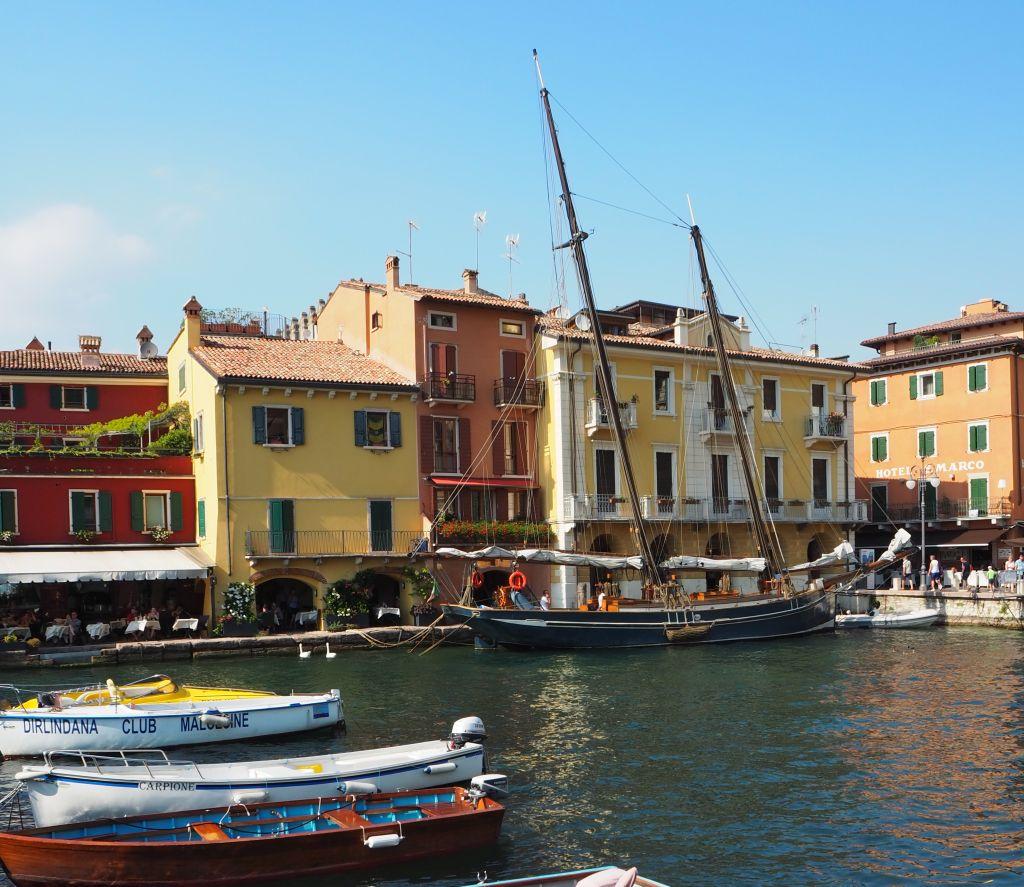 Mit dem Boot nach Malcesine – Teil 2