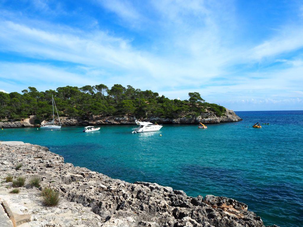 Wanderung an der Cala Mondragó in Santanyi auf Mallorca