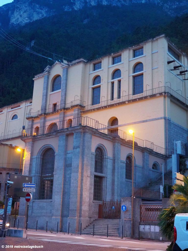 Wasserkraftwerk von Riva del Garda