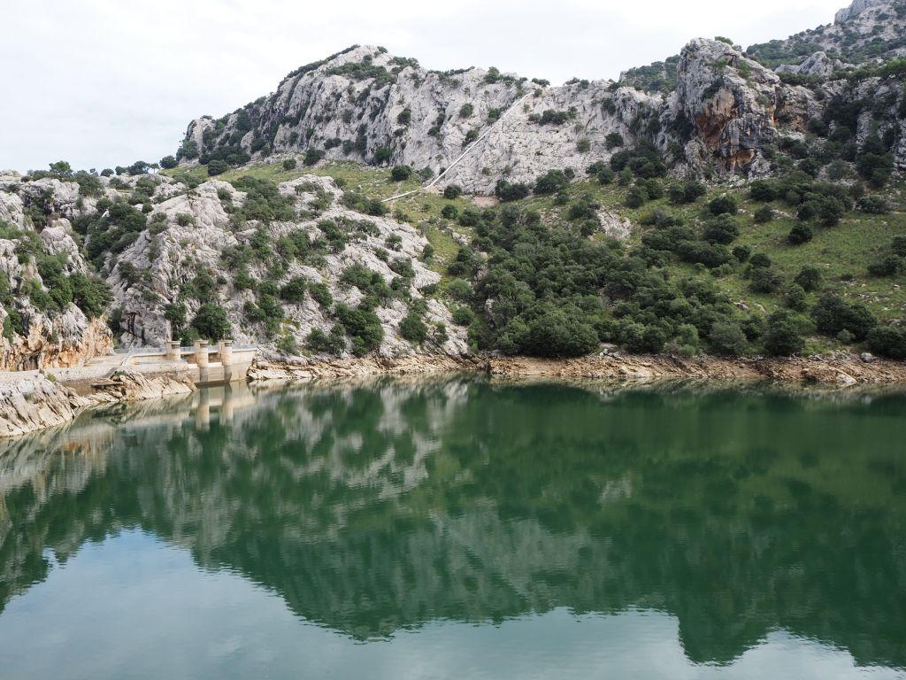 Stausee Gorg Blau auf Mallorca