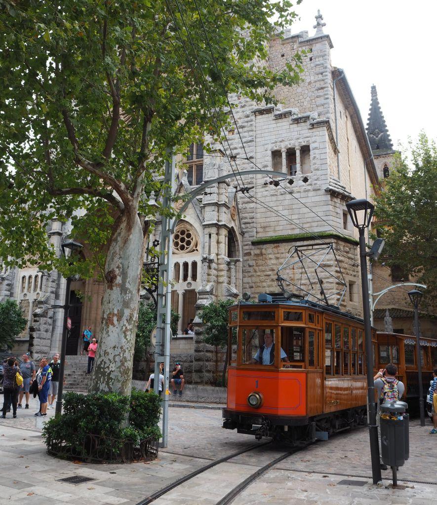 Historische Straßenbahn in Sóller