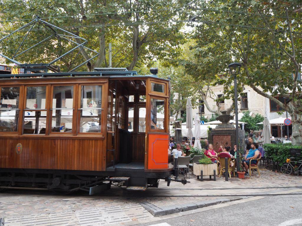 Die historische Straßenbahn von Soller