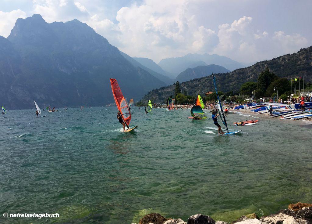 Torbole - Paradies für Wassersportler