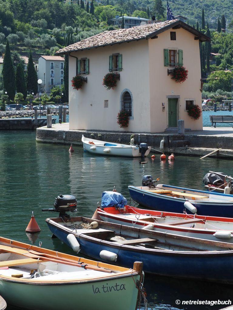 Casa del Dazio - altes Zollamt am Hafen von Torbole