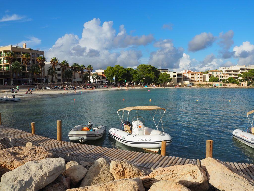 Blick auf Colonia St. Jordi