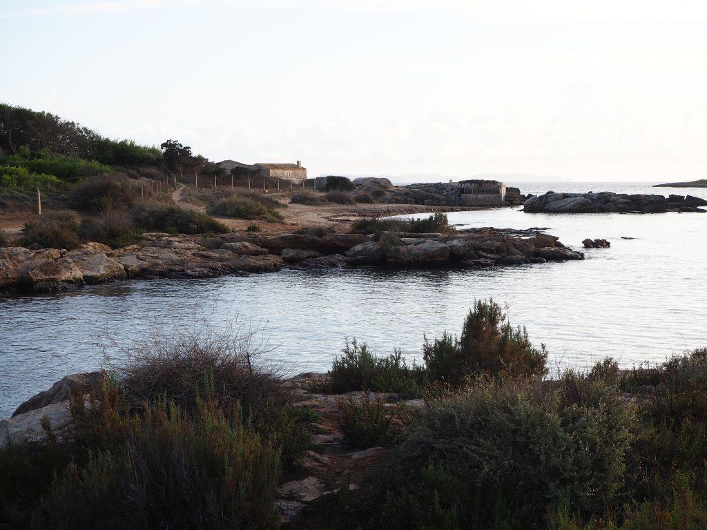 Am Strand von Colonia St. Jordi