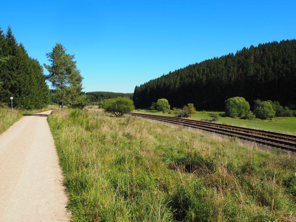 In Blankenheim starten wir den Erft-Radweg
