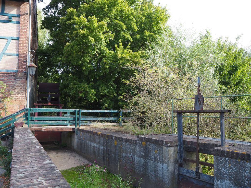 Mühlenrad der Gymnicher Mühle