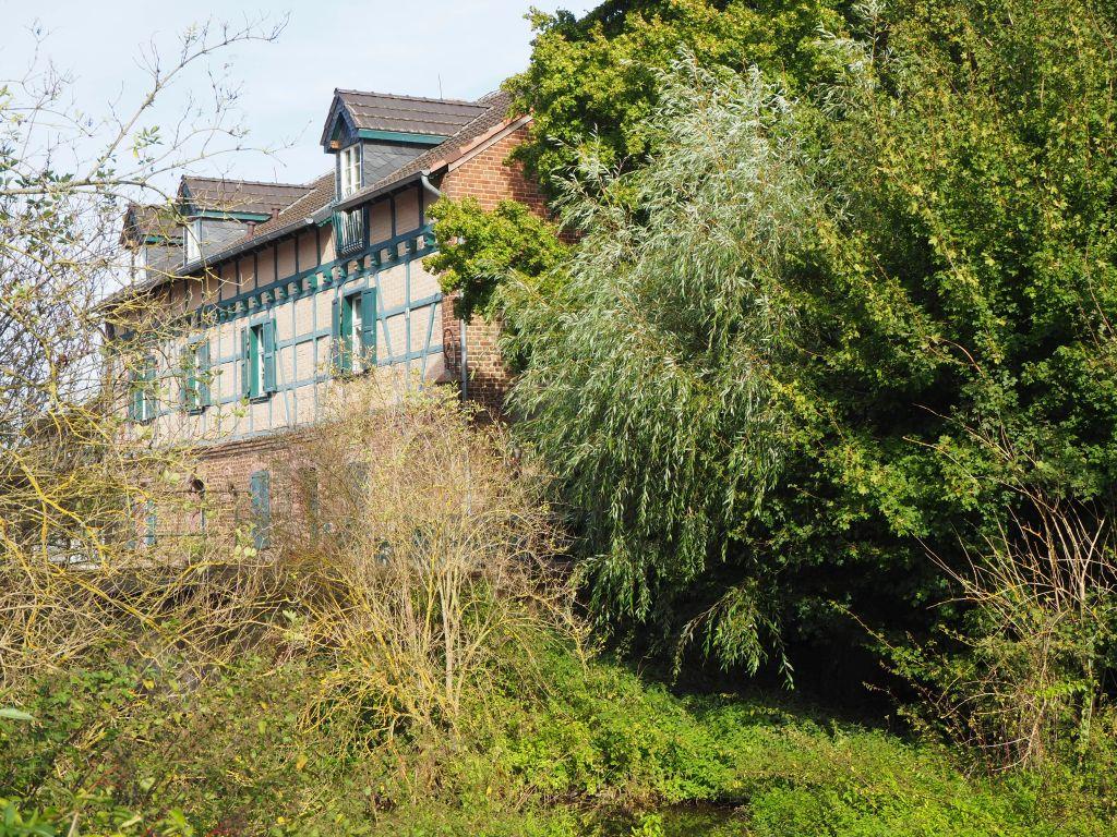 Seitenansicht der Gymnicher Mühle