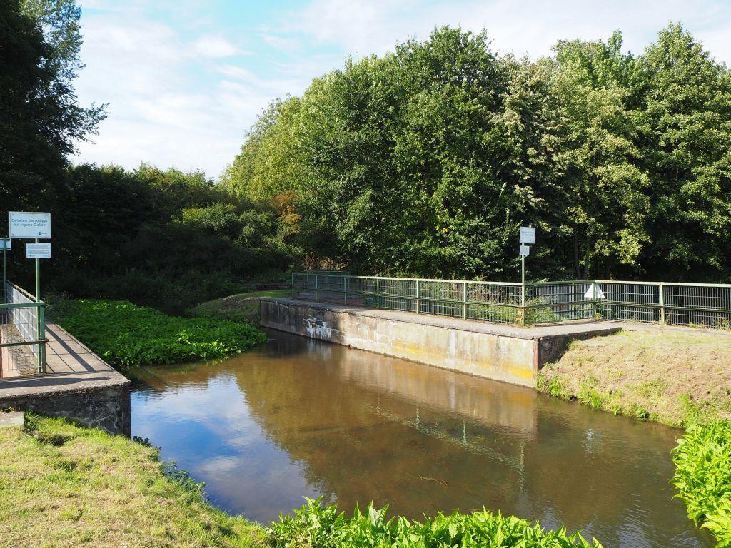 Aquädukt am Erftflutkanal
