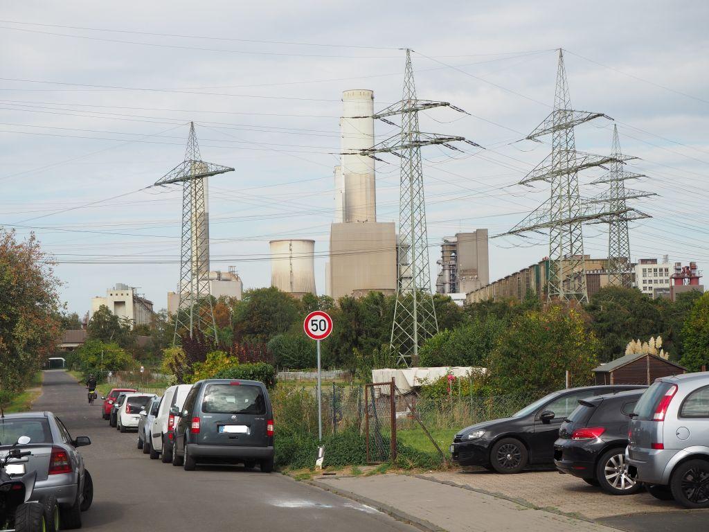 Kohlekraftwerg in Frimmersdorf