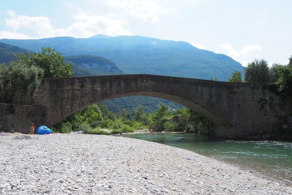 Ponte Romano in Ceniga / Gardasee