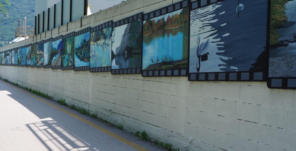 Graffiti in Arco