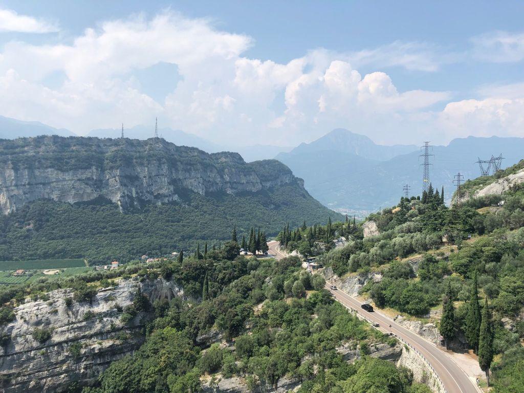 Gardasee Fahrradtour: von Torbole über den Monte Velo