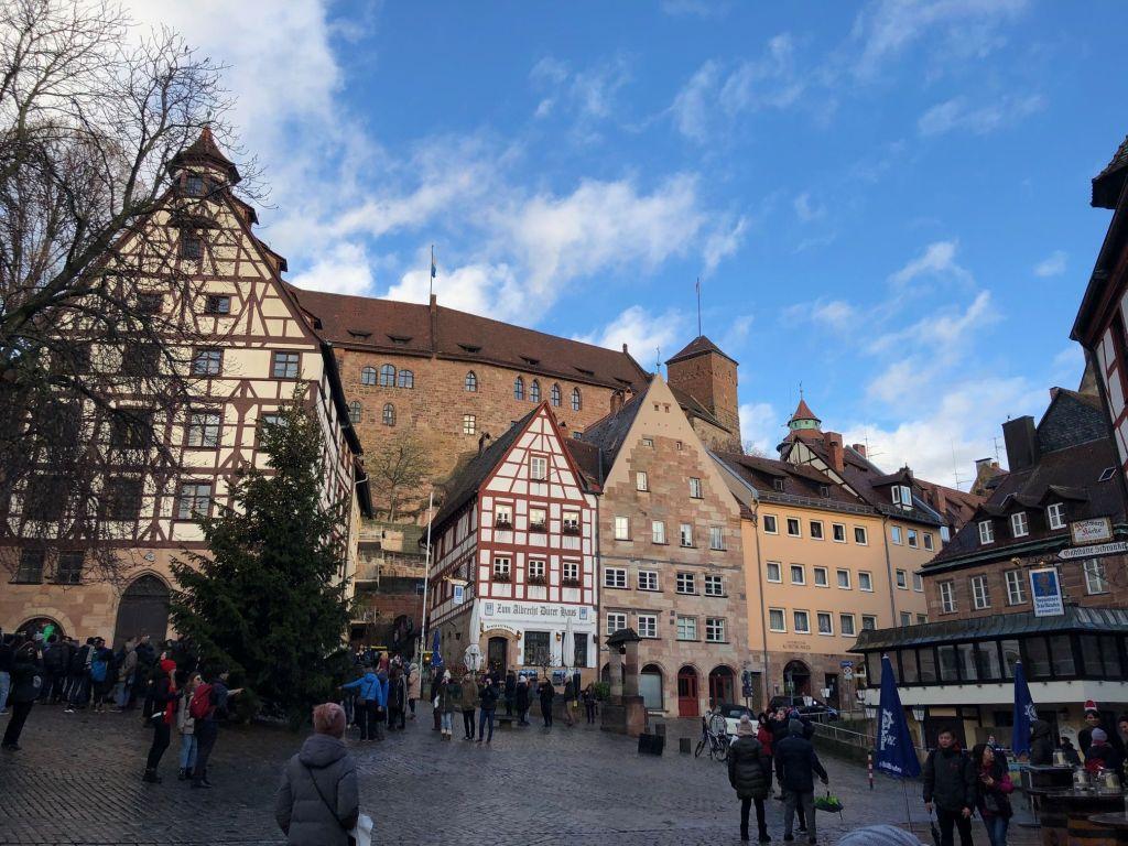 Die Kaiserburg von Nürnberg