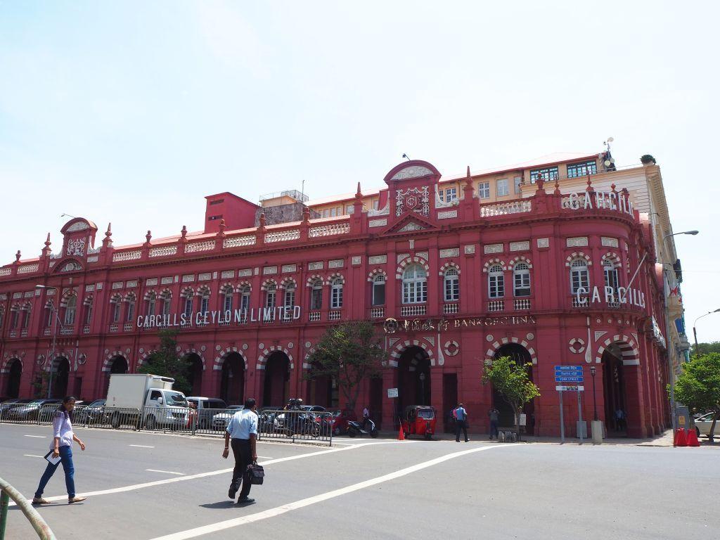 Das Kaufhaus Cargills in Colombo