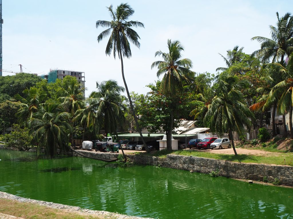Kanal, der durch Colombo führt