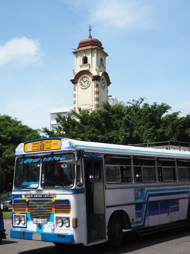 Uhrturm in Colombo