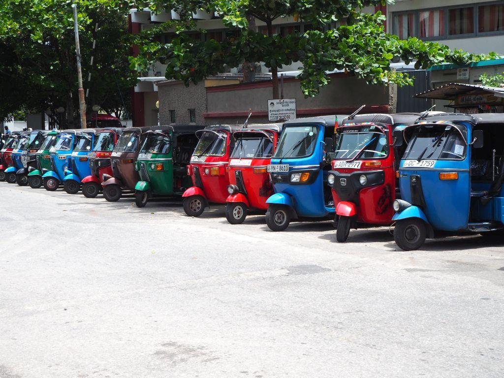 Der Sri Lanka Verkehr