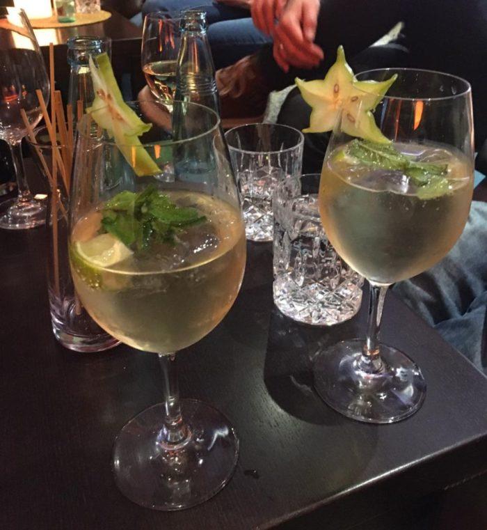 Cocktails am Abend