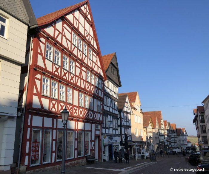 Fachwerkhäuser in Bad Wildungen