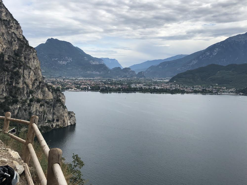 Mountainbike-Tour am Gardasee mit Aussicht