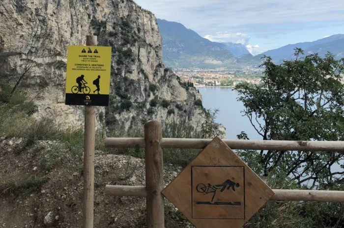 Gardasee Mountainbike-Tour: kraftvoll hinauf zum Refugium Nino Pernici