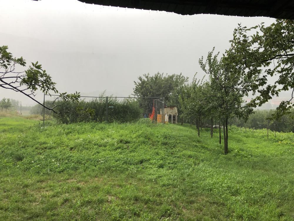 Beim Fahrradfahren am Gardasee den Regen erwischt